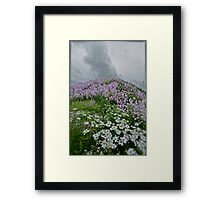 Landscape and Floral Pastel Paintings . Norway .Nordland . june 2012. by Andy Brown Sugar. Featured in Eastern European Art. Thx! Framed Print