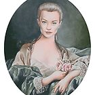 Sophia Myles as Madame de Pomadour by Amanda Clegg