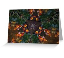 Prismatic Foliage 26 Greeting Card