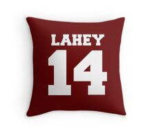 Isaac Lahey #14 Throw Pillow