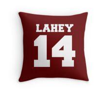 Isaac Lahey #14 Throw Pillow