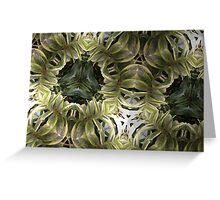 Prismatic Foliage 36 Greeting Card