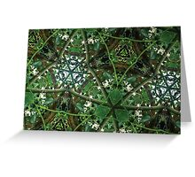 Prismatic Foliage 38 Greeting Card