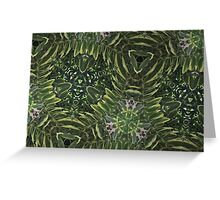 Prismatic Foliage 40 Greeting Card