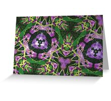 Prismatic Foliage 42 Greeting Card