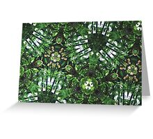 Prismatic Foliage 43 Greeting Card