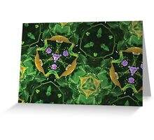 Prismatic Foliage 46 Greeting Card