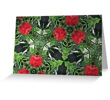 Prismatic Foliage 48 Greeting Card