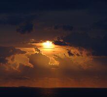 Dramatic Sunset Sequences II - Sequencias de una dramatica Puesta del Sol by PtoVallartaMex