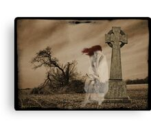 Grief Stricken Canvas Print