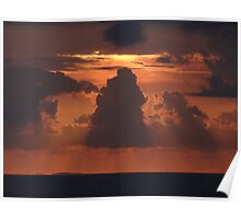 Dramatic Sunset Sequences I - Sequencias de una dramatica Puesta del Sol Poster
