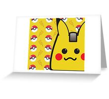 PikaBag and Bolts! Greeting Card
