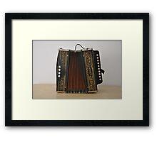 Hohner Accordion Framed Print