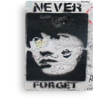 Never forget Berlin Canvas Print