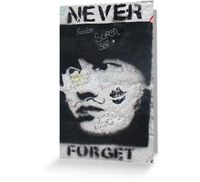 Never forget Berlin Greeting Card