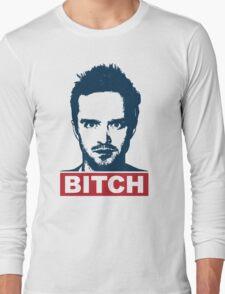 BREAKING BAD JESSE PINKMAN BITCH Long Sleeve T-Shirt