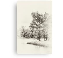 Summer Lake Memories Canvas Print