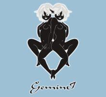 Gemini T-shirt design by Dennis Melling