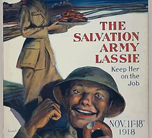 Oh boy thats the girl! The Salvation Army lassie keep her on the job 002 by wetdryvac