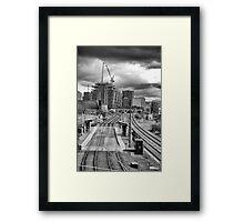 Snow Hill Framed Print