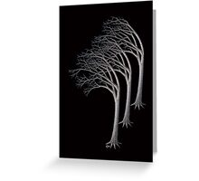 Bent Trees Greeting Card