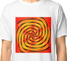 Vibrant tigerlike abstract Classic T-Shirt