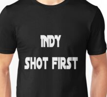 Indy Shot First Unisex T-Shirt