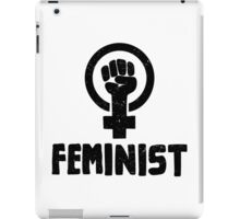 Raised Fist Feminist Logo iPad Case/Skin