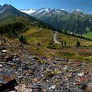 Gletscherblick Alm by Brendan Schoon