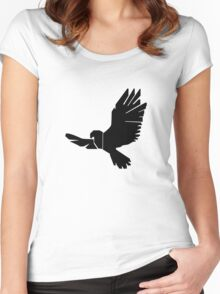 DBM Falcon Logo Women's Fitted Scoop T-Shirt