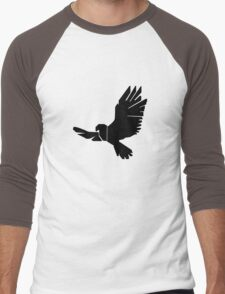 DBM Falcon Logo Men's Baseball ¾ T-Shirt