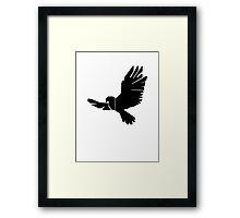 DBM Falcon Logo Framed Print