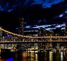 Story Bridge Panoramic by William Rottenburg