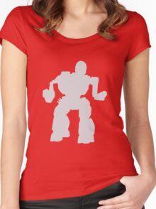 Summoner Battlemech Grey Women's Fitted Scoop T-Shirt