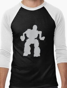 Summoner Battlemech Grey Men's Baseball ¾ T-Shirt