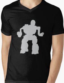 Summoner Battlemech Grey Mens V-Neck T-Shirt