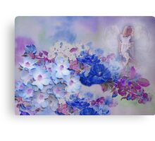 Hevenly Flowers Canvas Print