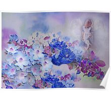 Hevenly Flowers Poster