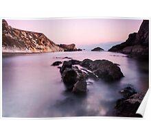 Waving Rocks Poster