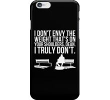 Weight of the World (v2) iPhone Case/Skin