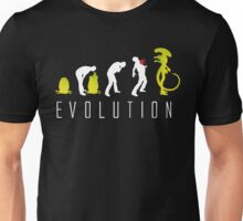 Evolution of Alien Funny Sci-Fi Unisex T-Shirt