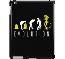 Evolution of Alien Funny Sci-Fi iPad Case/Skin