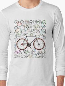 Love Fixie Road Bike Long Sleeve T-Shirt