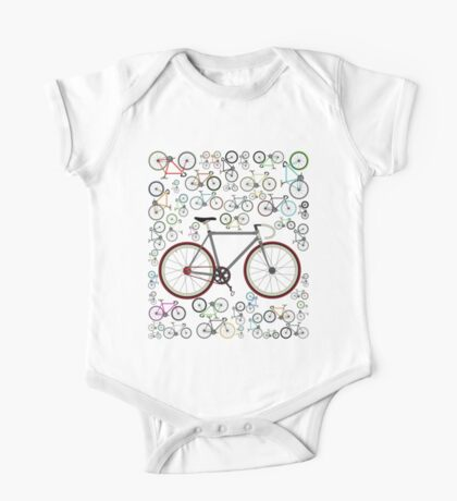 Love Fixie Road Bike One Piece - Short Sleeve