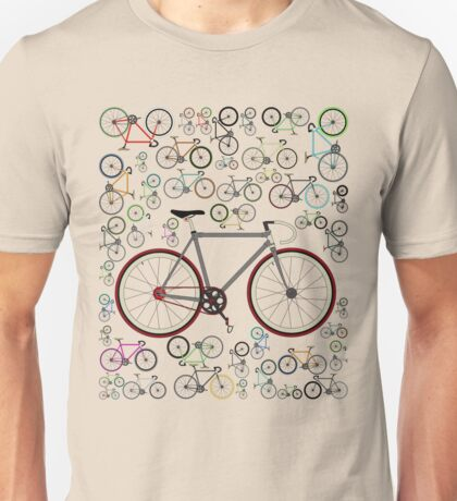 Love Fixie Road Bike Unisex T-Shirt