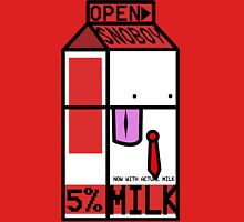 SnoBoy Milk Carton Unisex T-Shirt