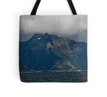 From the deck of the ferry you will have a perfect view of the Lofoten Islands. 2012 . by Andy Brown Sugar. Tote Bag