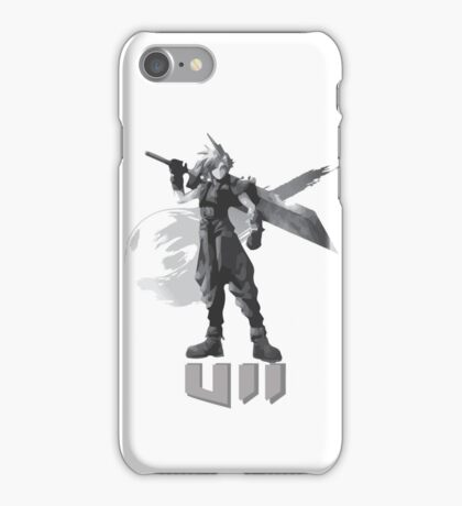Final Fantasy VII Cloud Shirt iPhone Case/Skin