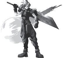 Final Fantasy VII Cloud Shirt by thruubeingcool