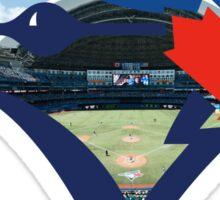Toronto Blue Jays Stadium Logo Sticker